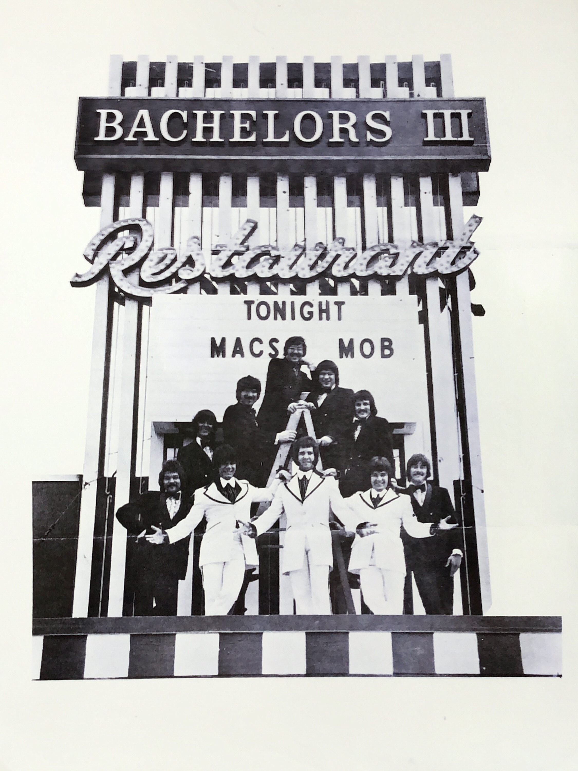 Mac's Mob at the Bachelors III