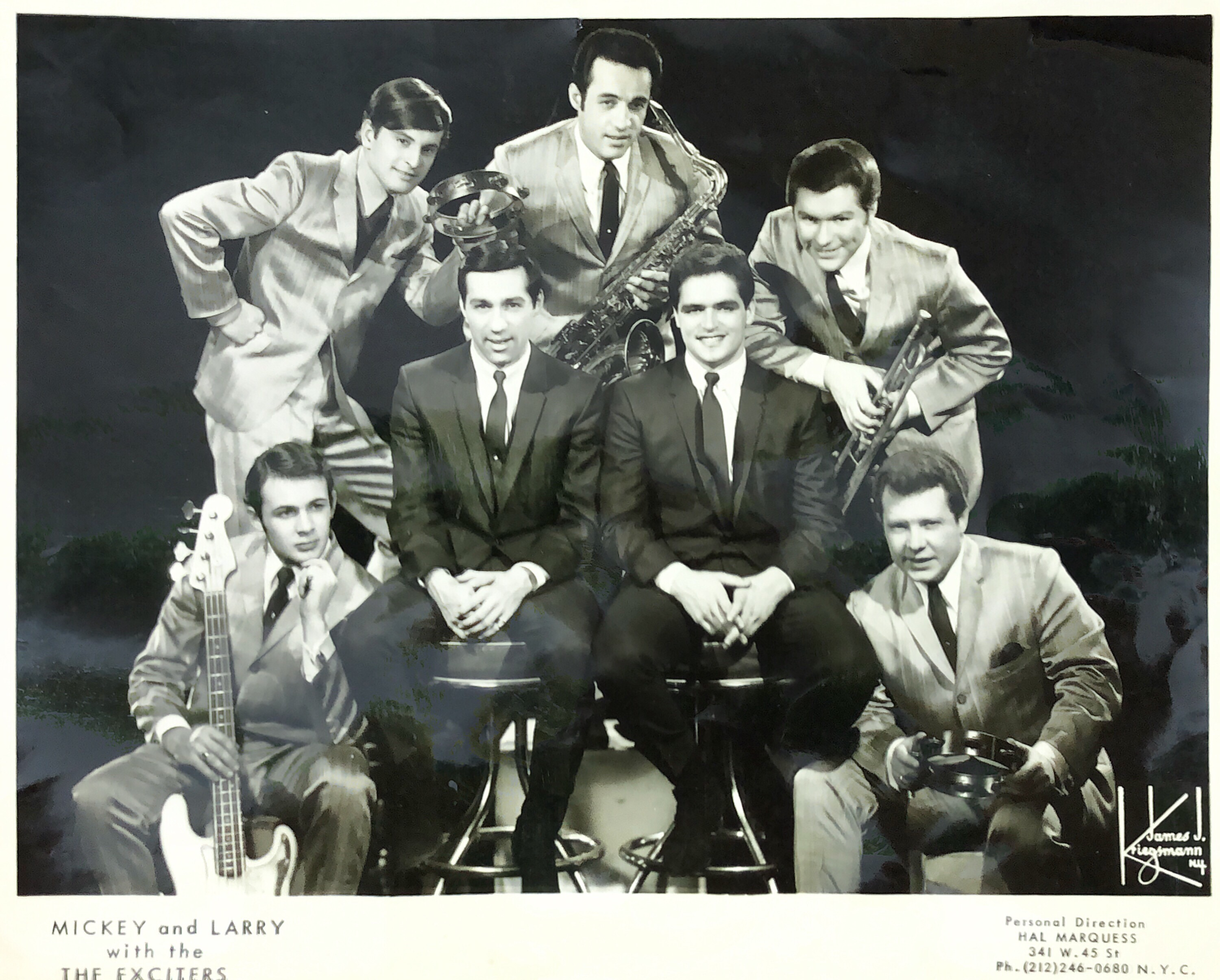 David DeArmond with Mickey, Larry and the Exciters