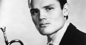 Chet Baker with Trumpet